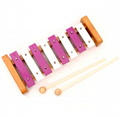 Alatoys Wooden Xylophone natural painted