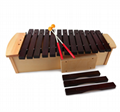 37 Tone Red Wood Xylophone with Stand