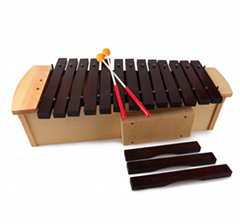 37 Tone Red Wood Xylophone with Stand professional use