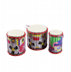 Wholesale toy musical instrument snare drum for kids