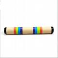 Baby wooden toy musical instruments bulk maracas 4