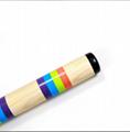 Baby wooden toy musical instruments bulk maracas 3