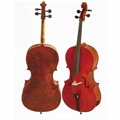 Grade german Handmade 4/4 cello with bow