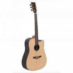 "40"" Advancing Student Cutaway Acoustic electric Guitar"