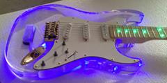 Acylic guitar electronic guitar
