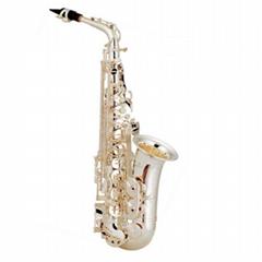 Eb Key Golden Lacquer Alto Saxophone