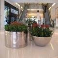 商場創意景觀花箱樹脂玻璃鋼不鏽