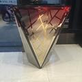 商場創意景觀花箱樹脂玻璃鋼不鏽鋼花缽 3