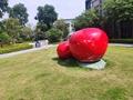 供應廣場圓球貼金 不鏽鋼雕塑 園林景觀 雕塑 4