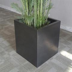 工艺品不锈钢花器花盆不锈钢异形花盆
