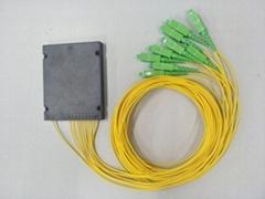 河南恆昱光盒式分光器1分8SC-APC