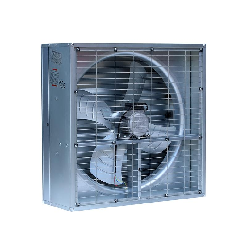 "500mm 20"" 3000CFM Poultry Farm Ventilation High Speed Wall Exhaust Fan 2"