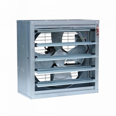 Wall Mounted AC Industrial Ventilation Axial Extractor Fan