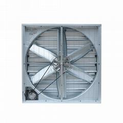 13000CFM High Temperature Ventilation Belt Driven Industrial Louvered Fan