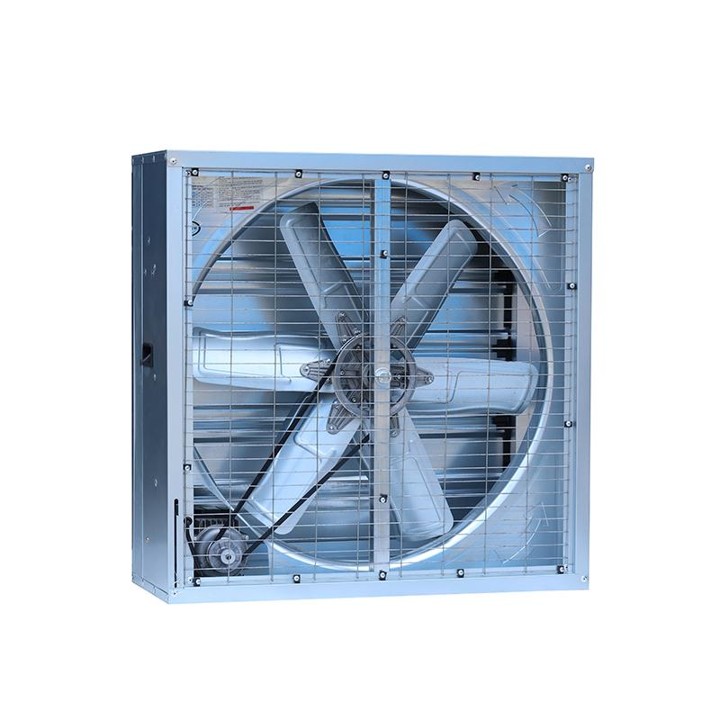 Warehouse Ventilation Anti Dust Large Industrial Louvered Wall Exhaust Fan 2