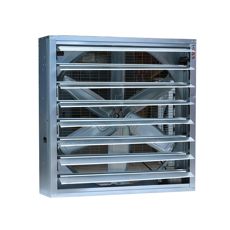 Warehouse Ventilation Anti Dust Large Industrial Louvered Wall Exhaust Fan 3