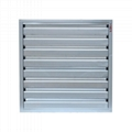 Warehouse Ventilation Anti Dust Large Industrial Louvered Wall Exhaust Fan 4
