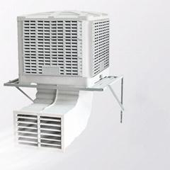 Wall Mount Desert Industrial Chiller Evaporative Air Cooler