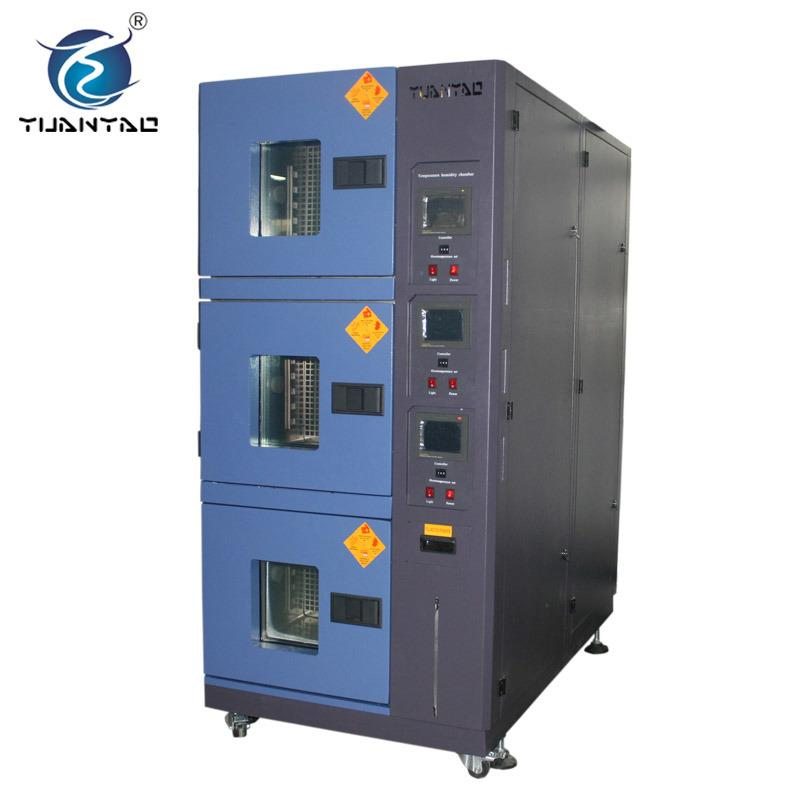 Three Zones Constant Temperature Humidity Environmental Tester Chamber 2