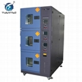 Three Zones Constant Temperature Humidity Environmental Tester Chamber 5