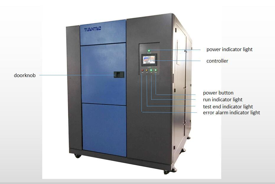 3 Zones Temperature Thermal Shock Test Chamber 50L  3
