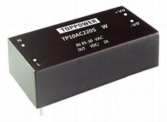 10W 4KVAC Isolation Wide Input AC/DC Converters