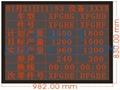 LED電子生產管理看板