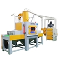 Environmental protection automatic sand blasting machine