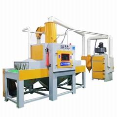 Environmental protection automatic sand blasting machine