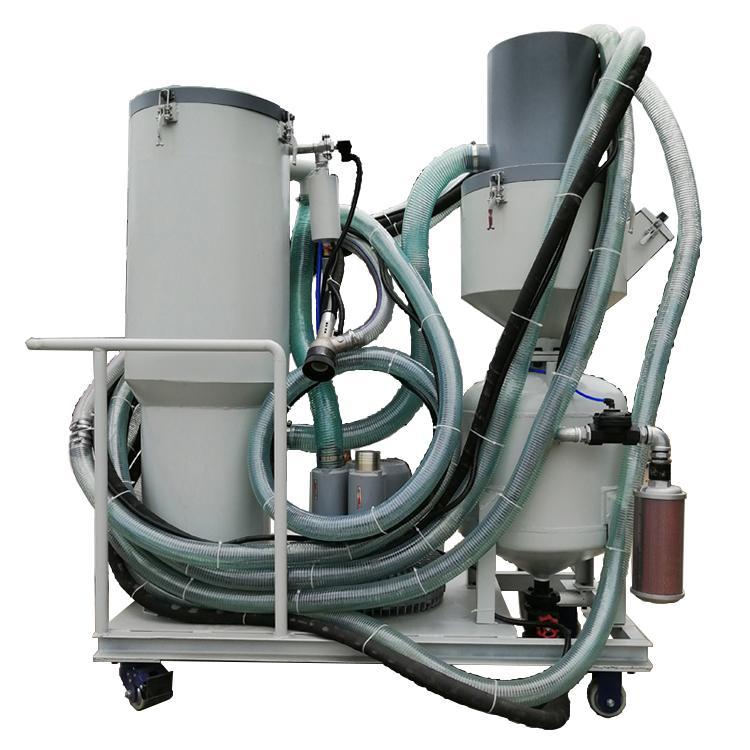 除鏽自動回收噴砂機 3
