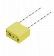 CL23B 100NJ100  metallized film capacitor   metallized polyester film capacitor