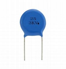 25 3KV Ceramic Capacitor   super high voltage ceramic capacitor