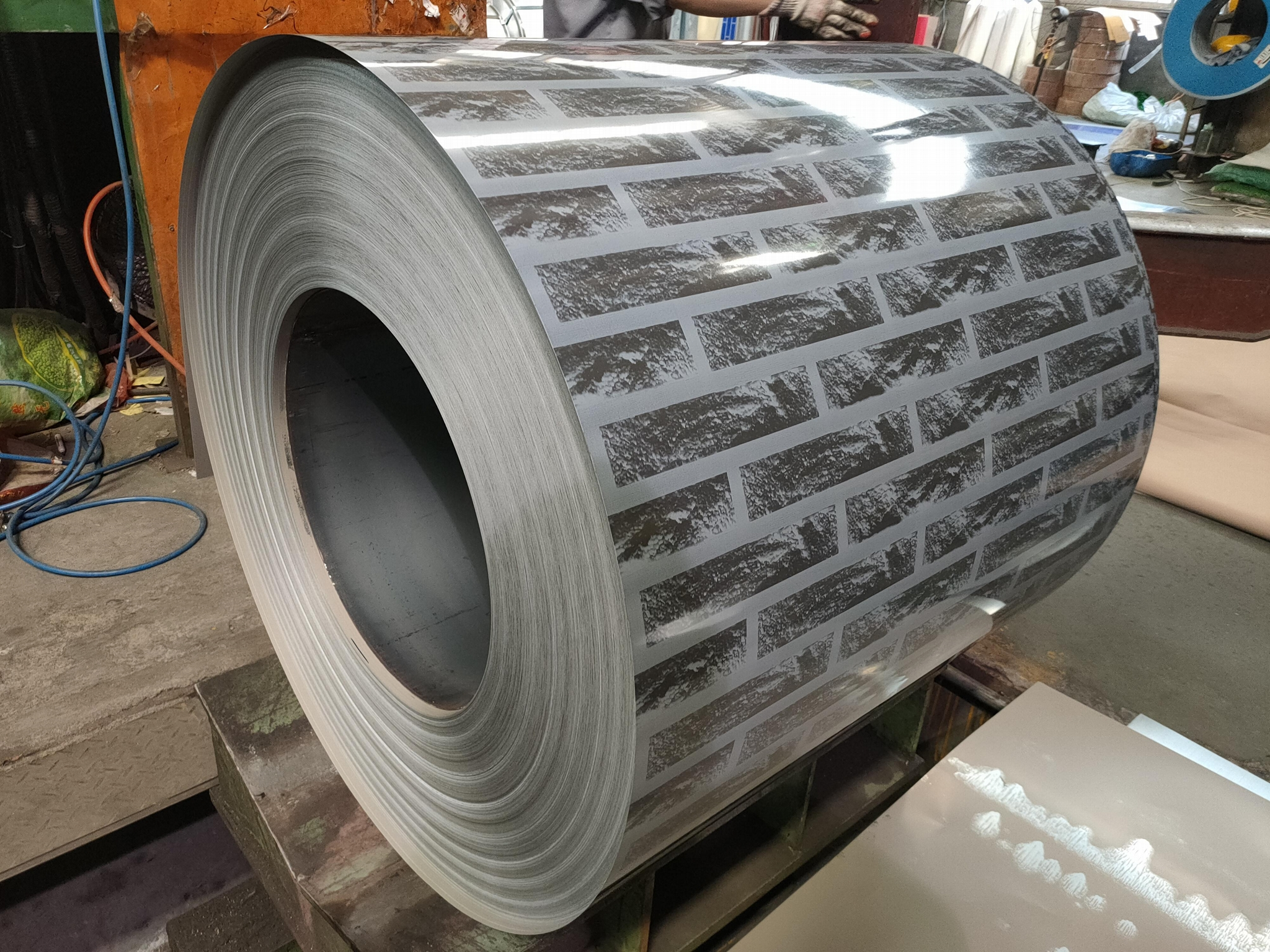 Manufacturer Hot Dipped Color Coated Ga  anized PPGI/Prepainted Steel Coils Shee 1