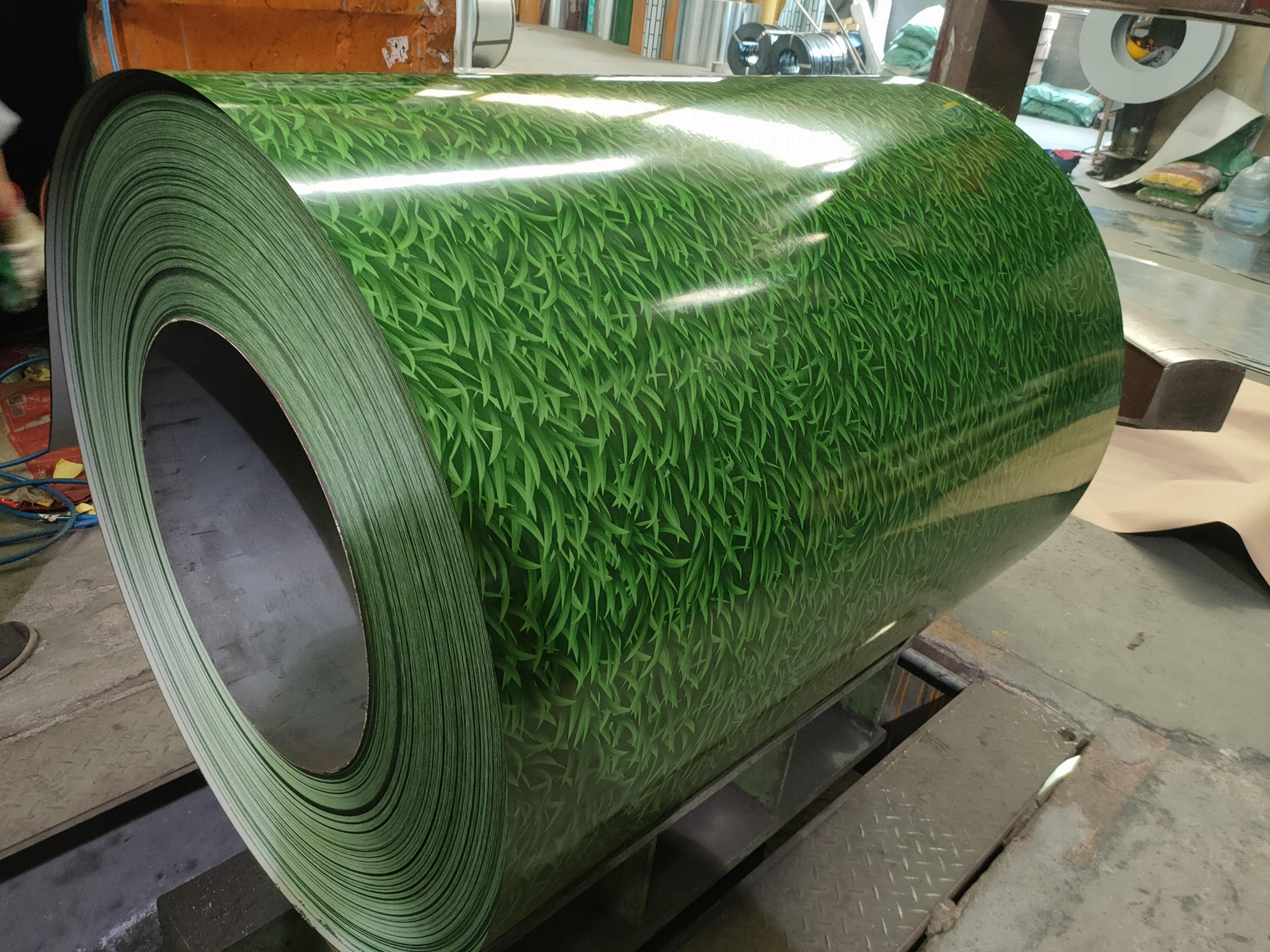 Manufacturer Hot Dipped Color Coated Ga  anized PPGI/Prepainted Steel Coils Shee 2