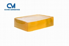 Hot melt adhesive for labels and tapes