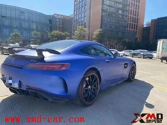 Carbon fiber Bumper Lip Spolier for Benz AMG GT GTS GTC upgrade GTR