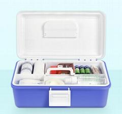 家用藥品收納盒保健醫藥箱醫用多層出診急救箱手提便攜藥箱
