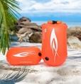 Outdoor swimming flotation bag dual air
