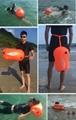 Outdoor swimming flotation bag dual air bag storage equipment