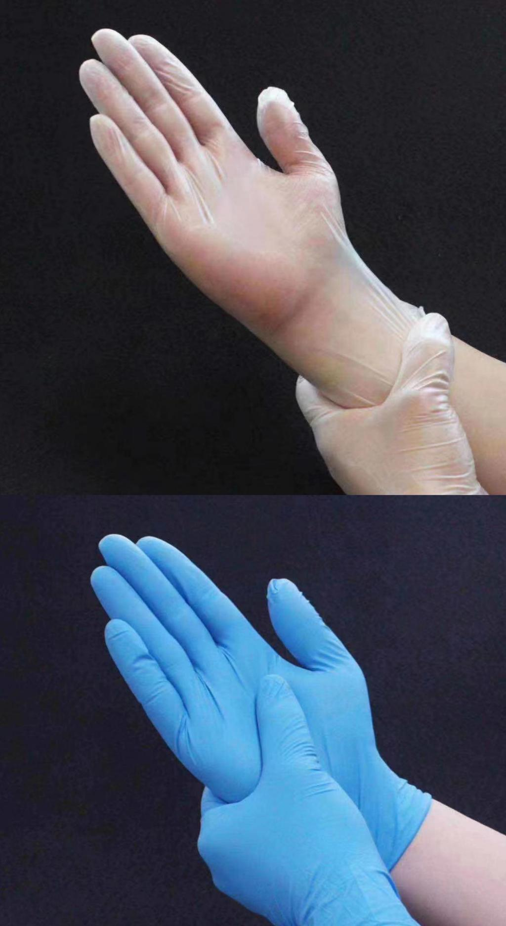 Disposable PVC gloves multi-functional protective gloves 1