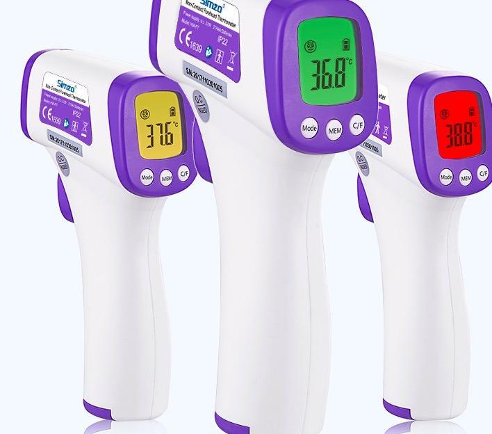 电子测温人体红外线温度计额头家用医测量仪高精度  额温体温枪 4