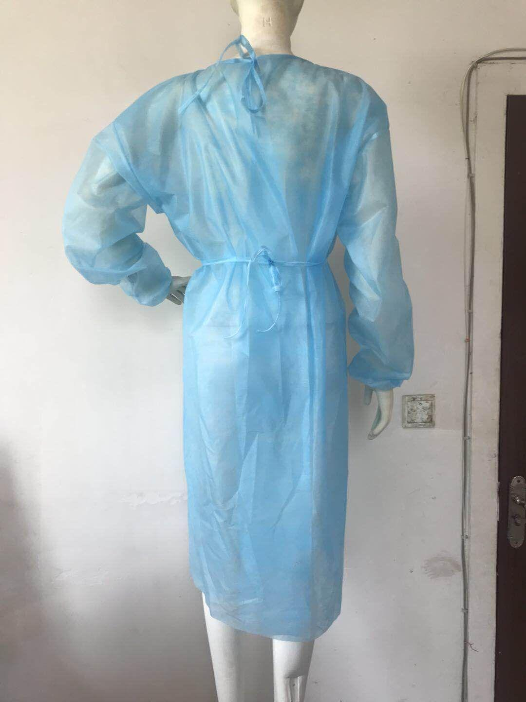 Disposable isolation clothing and epidemic prevention protective clothing 2