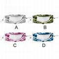 薄款透氣可水洗棉布口罩可視容貌pvc透明防護唇語口罩 5