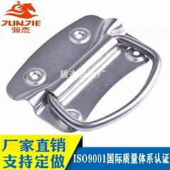 304不锈钢活动拉手工具箱铝箱提手把手工业活动折叠拉手J201粗线