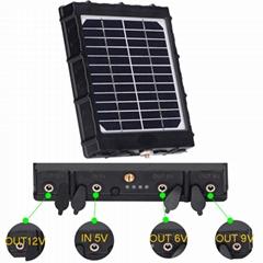 solar cells kit 6V 9V 12V for hunting camera/mobile phone