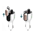 G52 Car FM Bluetooth Transmitter With Earphone Headset  Car MP3 Player