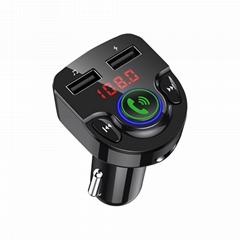 G32 car fm transmitter MP3 Player BT V5.0 3.1A Dual USB Car Charger