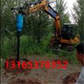 廠家直銷挖掘機改螺旋鑽機 挖機鑽孔機 5
