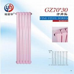 工程鋼二柱散熱器優缺點sqgz209