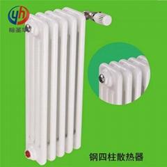gz406鋼管四柱式散熱器
